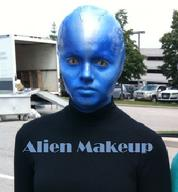 Blue Man Group Make-up