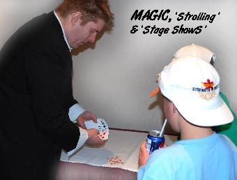 Magic, Magicians, Sleight of Hand Magicians, Magic Act Stage Shows